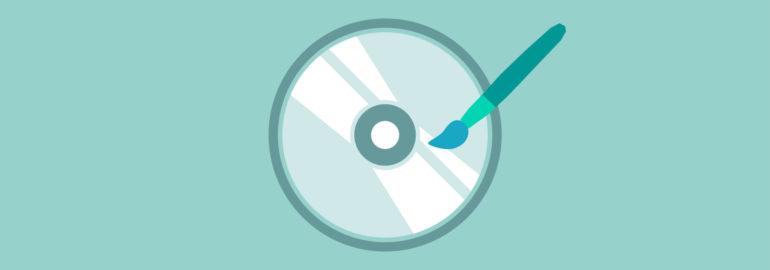 Обложка: Раскраска диска для определения направления его вращения