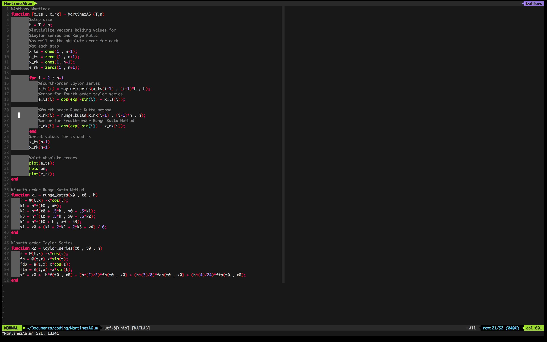 Screenshot - MATLAB