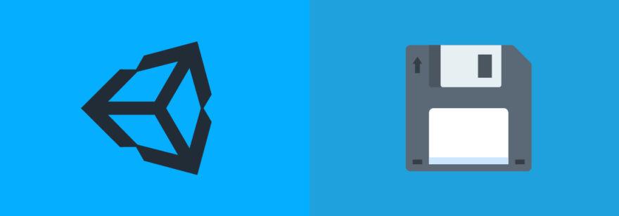 Обложка: Как выполнять сохранение и загрузку игры в Unity