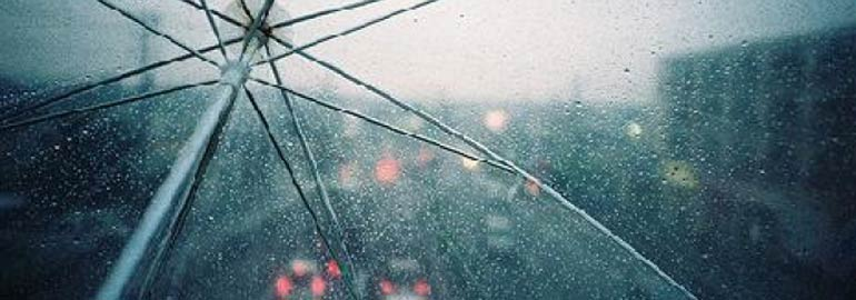 Обложка: В каком случае добираясь до машины, вы меньше промокнете: быстро пробежав или пройдя путь спокойно?
