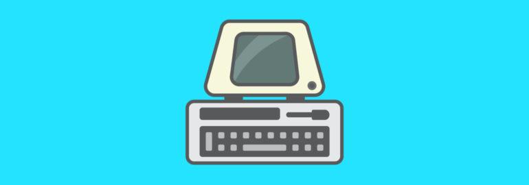 Обложка: 25 интересных фактов о старых компьютерах