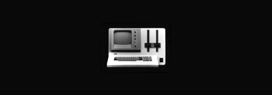 Обложка: IBM 5120 — самый тяжелый компьютер в истории