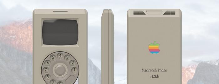 Обложка: Macintosh Phone — флагманский смартфон от Apple