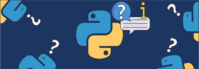 Обложка: Короткие ответы на популярные вопросы о Python