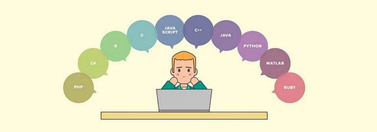 Обложка: Какой язык программирования лучше выбрать первым для изучения новичку?