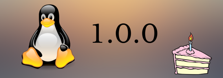 Обложка: 22 года с первого стабильного релиза Linux