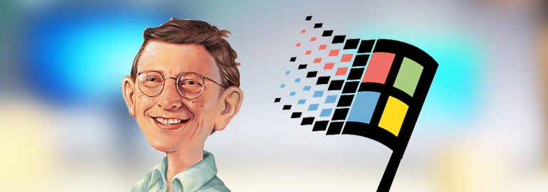 Обложка: Маздаю исполняется 21 год: 24 августа 1995 была представлена Windows 95