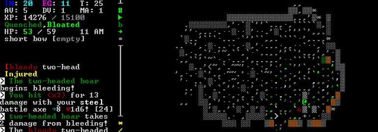 Обложка: Пишем свою игру в жанре Roguelike