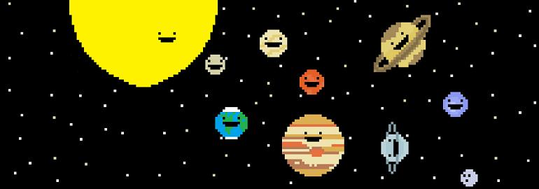Обложка: Создаём Солнечную систему на чистом CSS3. Часть первая. Начальный этап, готовим сцену и фон