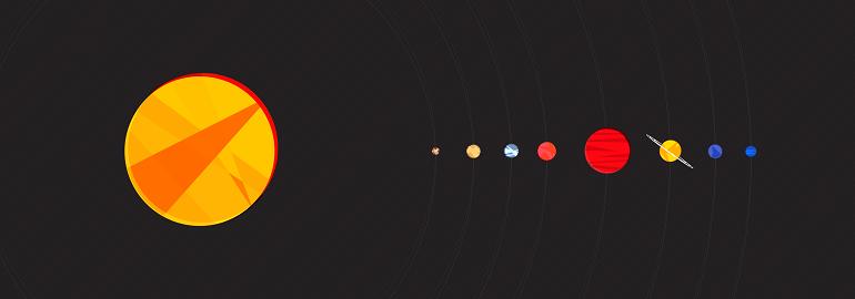 Обложка: Создаём Солнечную систему на чистом CSS3. Часть вторая. Кейфреймы и тени