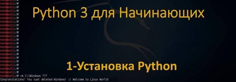 Обложка: Курс «Python для начинающих»