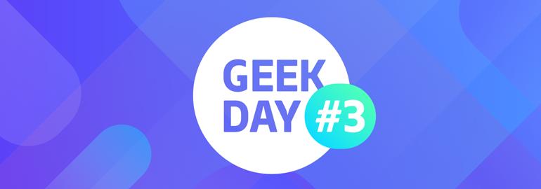 Обложка: IT-конференция GeekDay: разбуди в себе программиста!