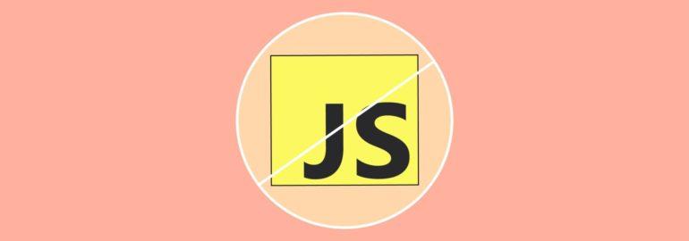 Обложка: Как выглядит современный веб без JavaScript