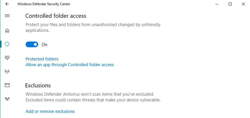доступ к директориям