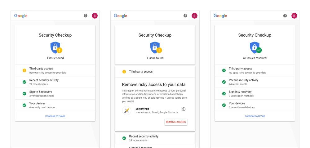 Cистемы безопасности Google