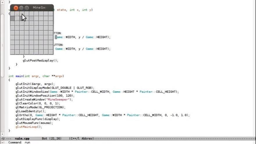 Обложка: Курс «Программирование простых игр на C++ за 10 минут»