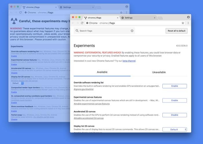 Chrome 63 Linux Mac Windows