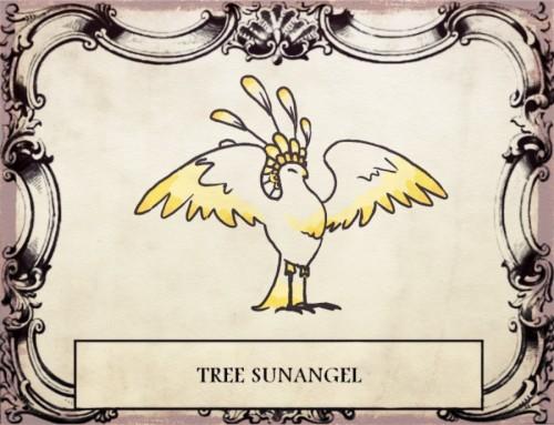 Древесный солнечный ангел