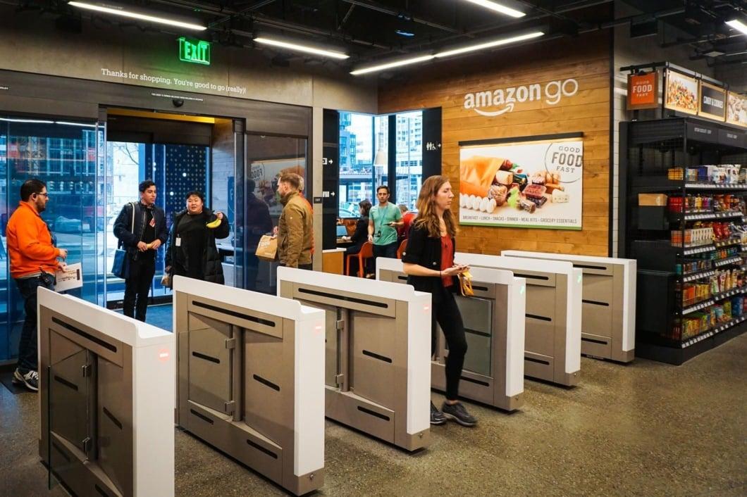 Amazon Go enter