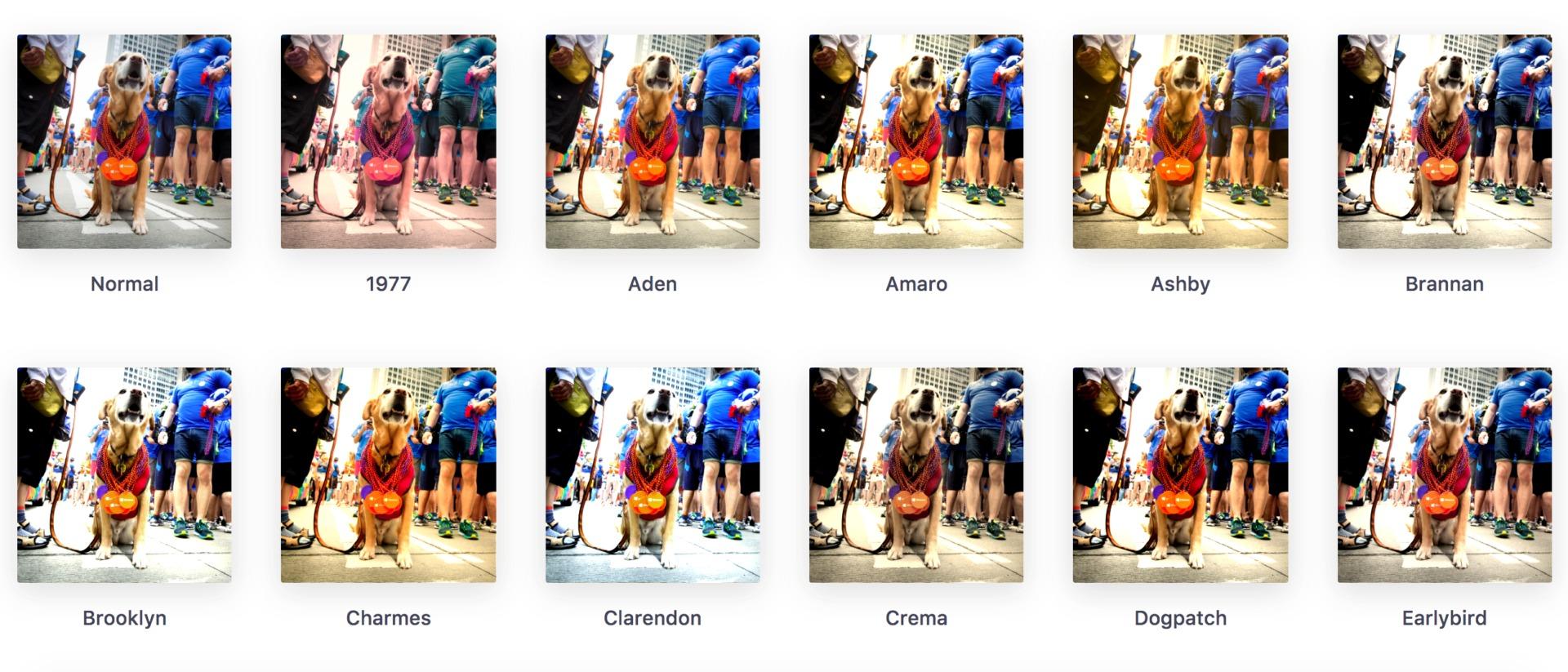 Примеры фотофильтров в действии