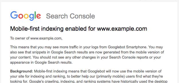 Google запустила mobile-first индексирование