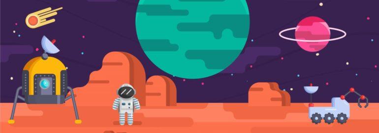 Обложка: Какие языки программирования используют в космических программах