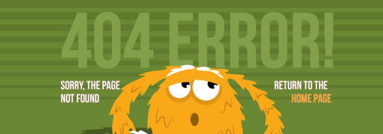 Обложка: Лучшие 404 страницы