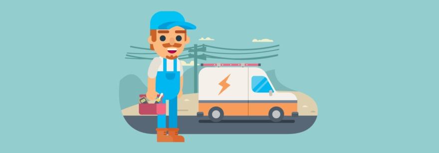 Обложка: Задача о ленивом электрике