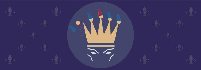 Обложка: Задача про обиженного короля и сотню звездочётов