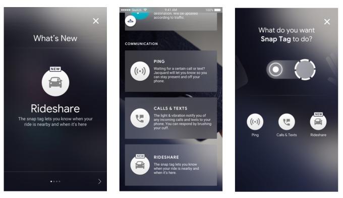 Уведомления Uber и Lyft