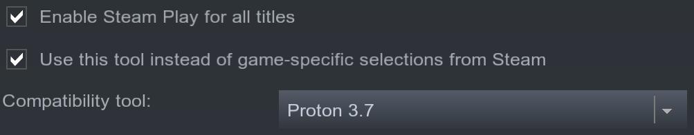 Инструмент Proton для запуска игр на Linux