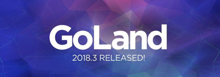 GoLand 2018.3