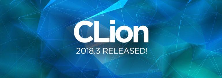 релиз Clion 2018.3