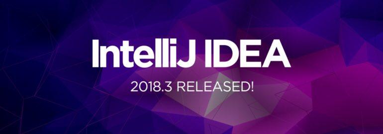 IntelliJ IDEA 2018.3 обложка