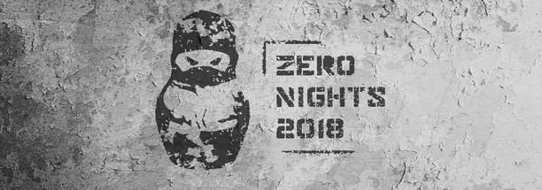 Zeronights 2018