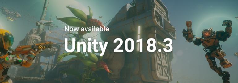 Unity 2018.3