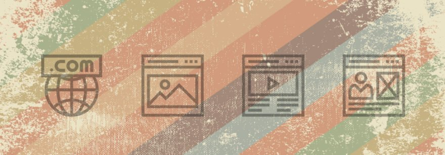 Обложка: Подборка сайтов, которые застряли в нулевых