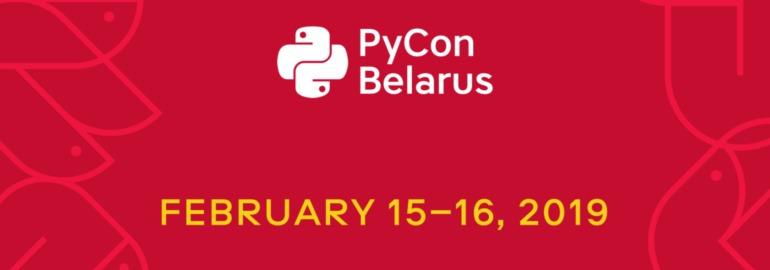 PyCon Belarus 2019