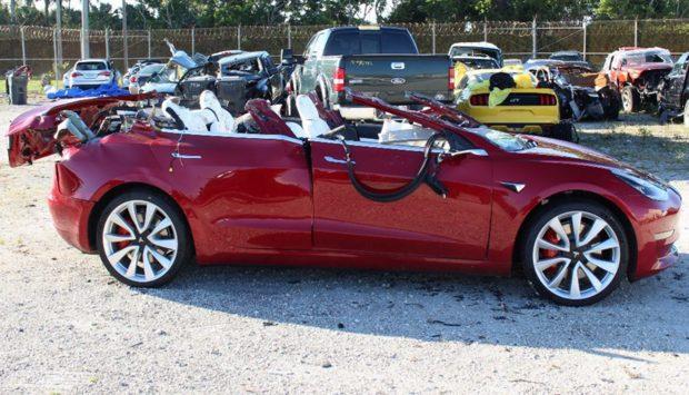 ДТП с Tesla Model 3