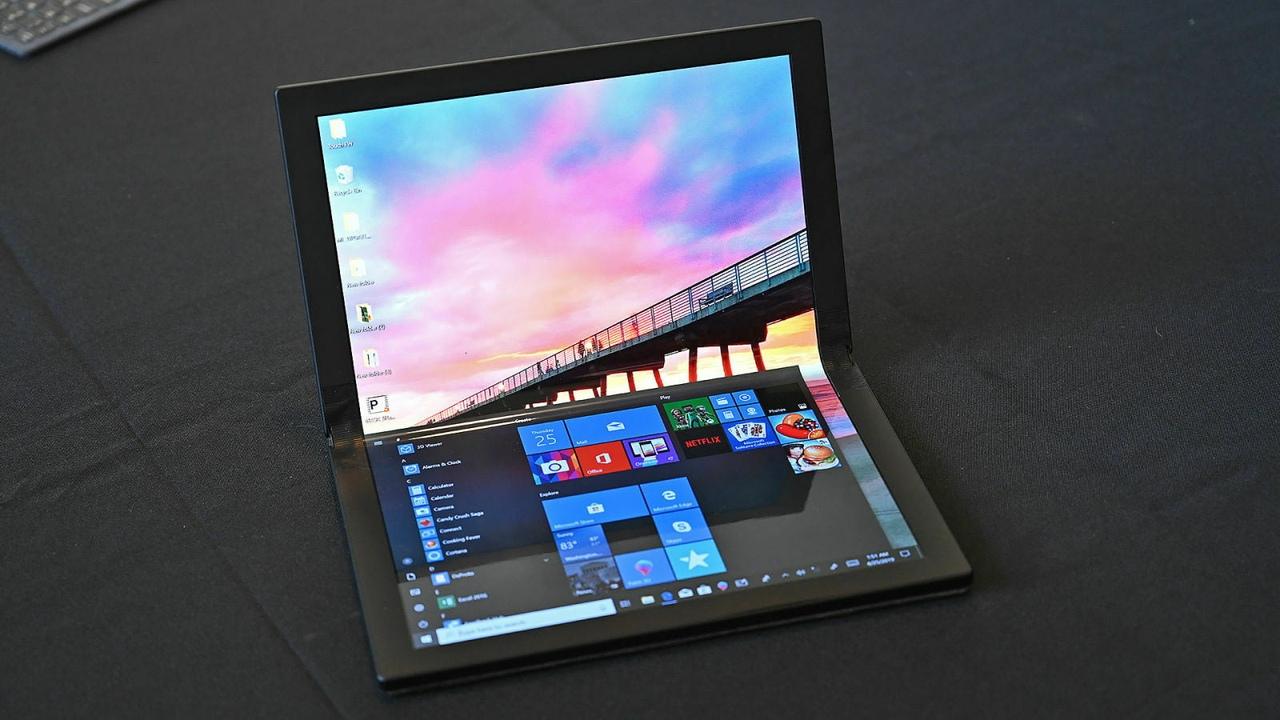 Lenovo представила прототип складного планшета