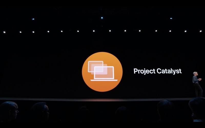WWDC 2019, анонс Catalyst