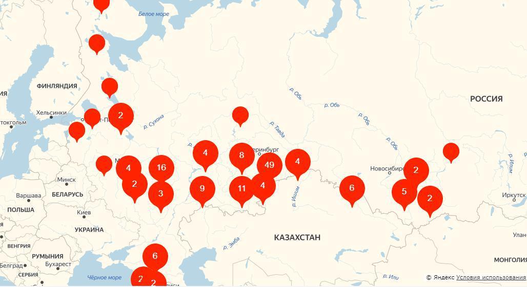 Яндекс для поиска питомцев