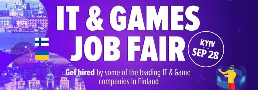 IT and Games Job Fair Kyiv 2019