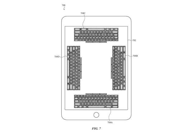 Патент экранной клавиатуры с обратной связью