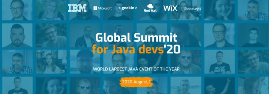 Обложка: JavaGlobal Summit'20