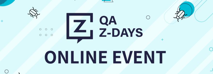 Обложка: Конференция QA Z-DAYS 2020