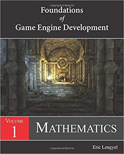 Обложка книги «Foundations of Game Engine Development, Volume 1: Mathematics»