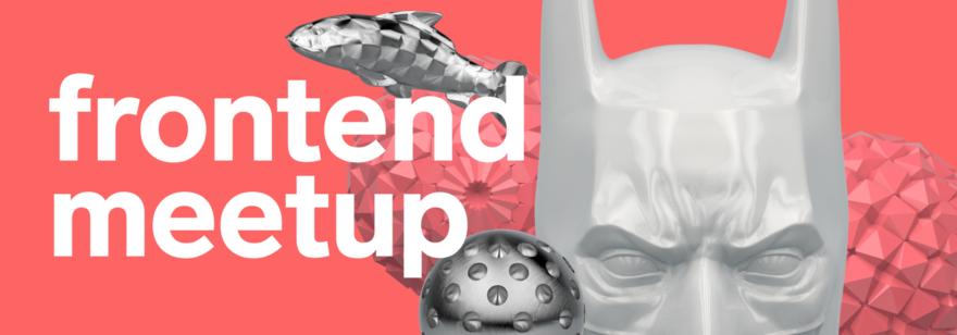 Баннер Frontend Meetup 2020