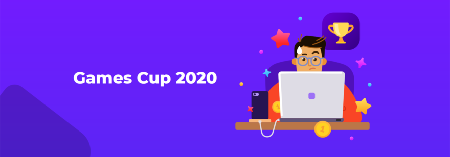 Баннер турнира Games Cup 2020