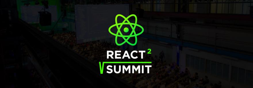 Баннер конференции React Summit 2020